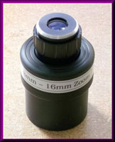 2 inch 7-16mm Zoom Eyepiece